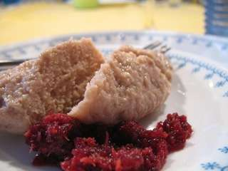 Gefilte fish is a Passover staple.