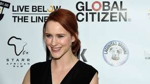 Actress Rachel Brosnahan attends The Global Poverty Project