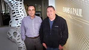 (L-R) CFO Paul V. Rossi and CEO and