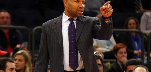 Head coach Derek Fisher of the New York