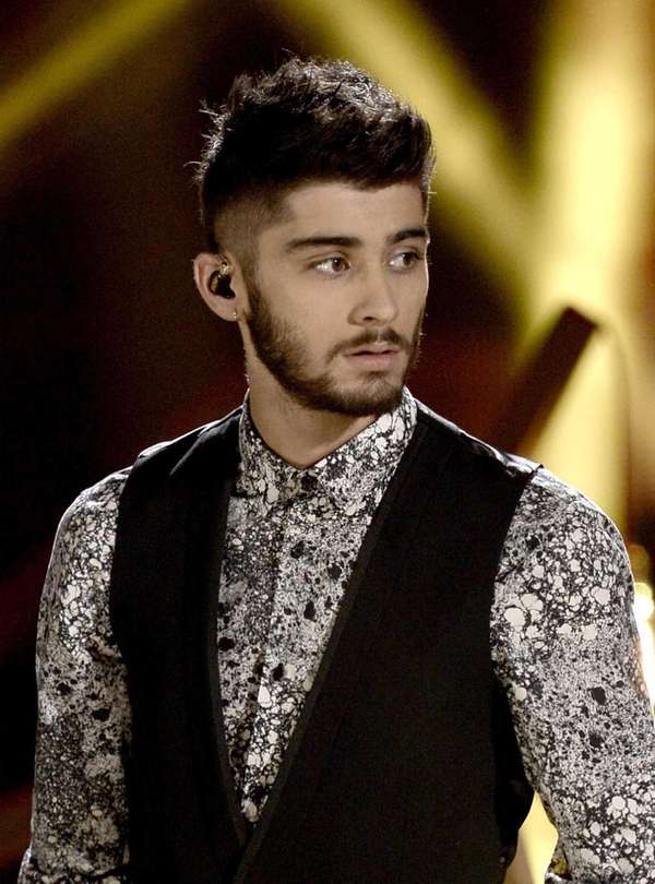 Singer Zayn Malik of One Direction performs onstage