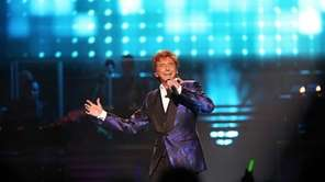 "Barry Manilow performs during his ""One Last Time!"""