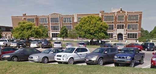 An undated Google view of Wichita East High