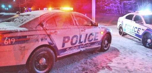 A Shirley woman was charged with drunken driving