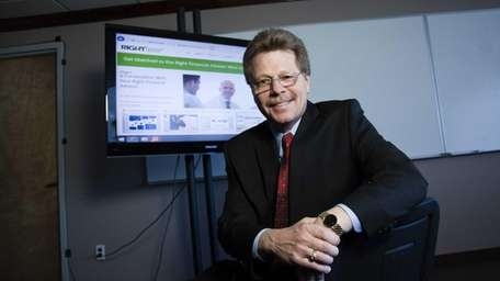 Richard Cross, 58, founder of Right Financial Advisor,