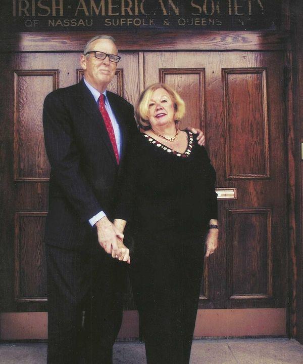 Neil and Eileen Fenton of Jamesport, who celebrate