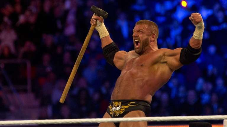 Triple H, shown here at WrestleMania 29, used