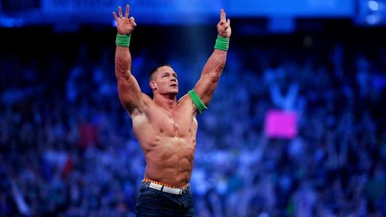 John Cena ended Rusev's undefeated streak, beating him
