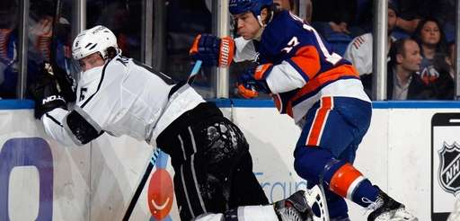Matt Martin #17 of the New York Islanders