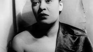 Portrait of Billie Holiday by Carl Van Vechten,