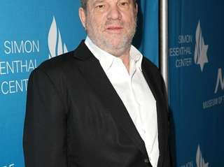 Producer Harvey Weinstein attends the Simon Wiesenthal Center