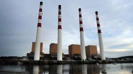 The National Grid Power station in Northport on
