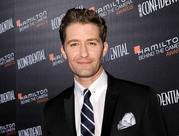 Matthew Morrison arrives at he 8th annual Hamilton
