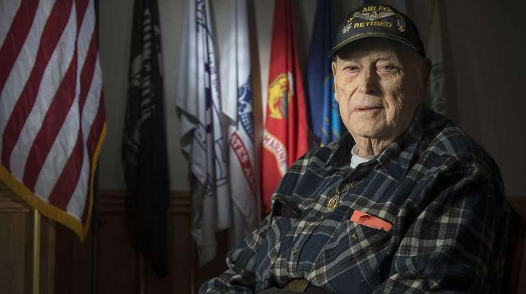 World War II veteran Howard Liebman at the