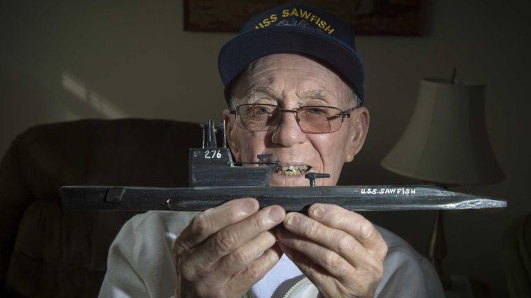 World War II veteran Charles Nicolas at his