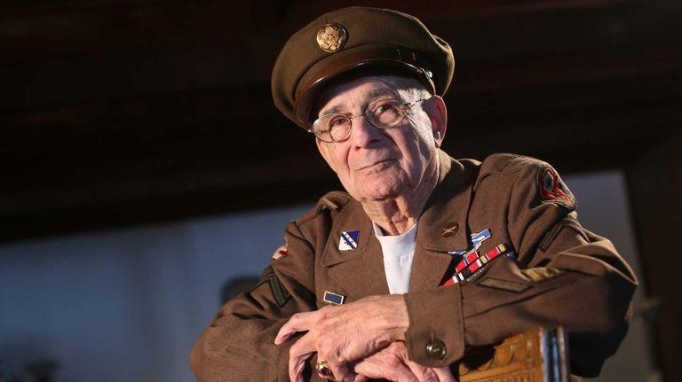 David Marshall, 90, of Baldwin, was an infantry