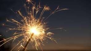 A hearing to make the sale of sparklers