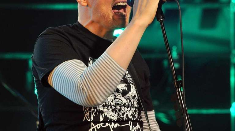 Billy Corgan and the Smashing Pumpkins perform onstage