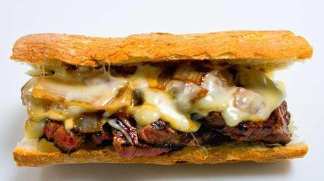 Pat LaFrieda's Original Filet Mignon Steak Sandwich from