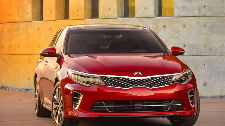 The 2016 Kia Optima is the next generation