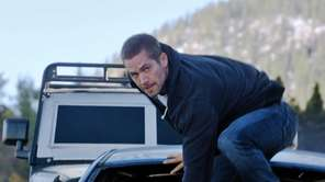 Paul Walker as Brian in a scene from