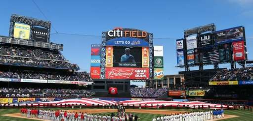 The Washington Nationals and the New York Mets