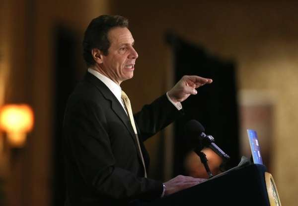 Gov. Andrew Cuomo is seen in a March
