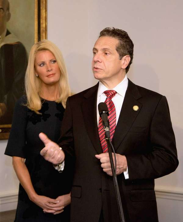 New York State Governor Andrew Cuomo, seen in