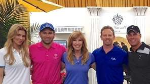 Long Island golf fitness expert John Ondrush, right,