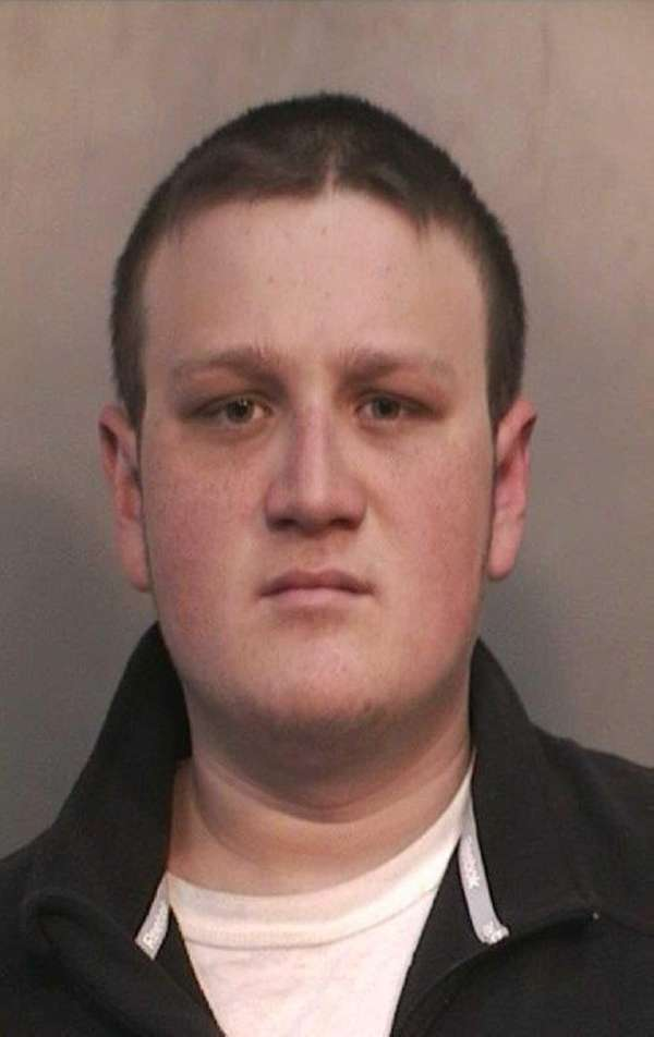 Spencer Koch, 18, of Huntington, was arrested on