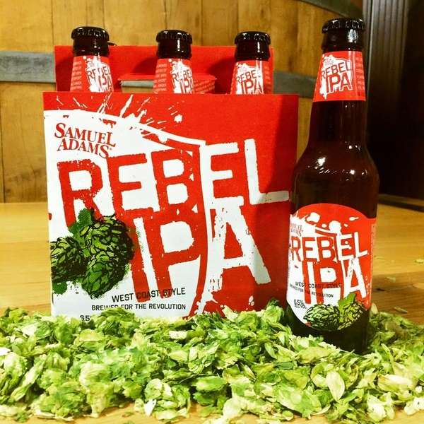Samuel Adams' Rebel IPA,