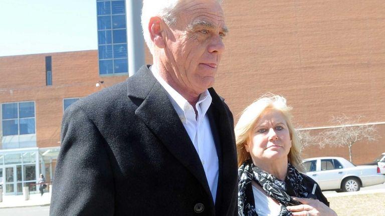 Smithtown Highway Superintendent Glenn Jorgensen on April 1,