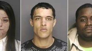 Katarina Bennett, 23, left, was arrested April 1,