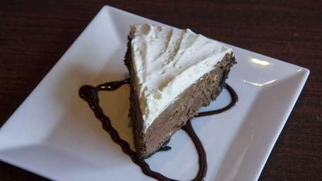 At Mara's Homemade in Syosset, chocolate mousse stars