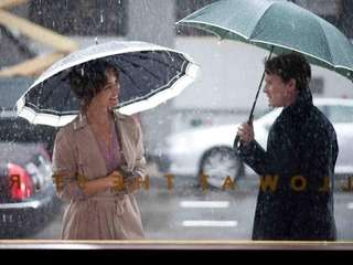 "Berenice Marlohe and Anton Yelchin in ""5 to"