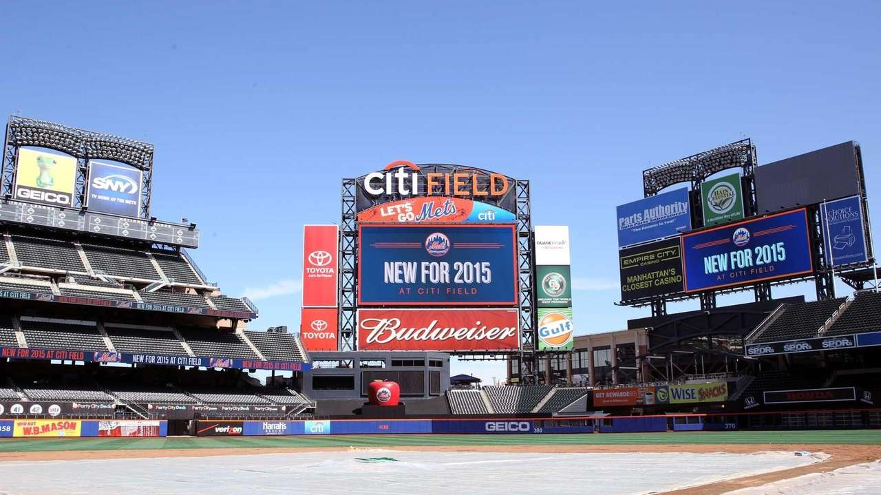 New 62% larger High Definition Daktronics Centerfield Video
