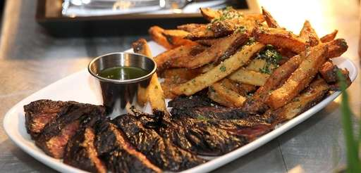 This grilled prime skirt steak by Chop House