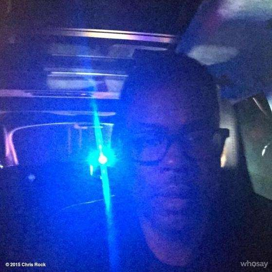 Comedian Chris Rock posted this photo to Twitter