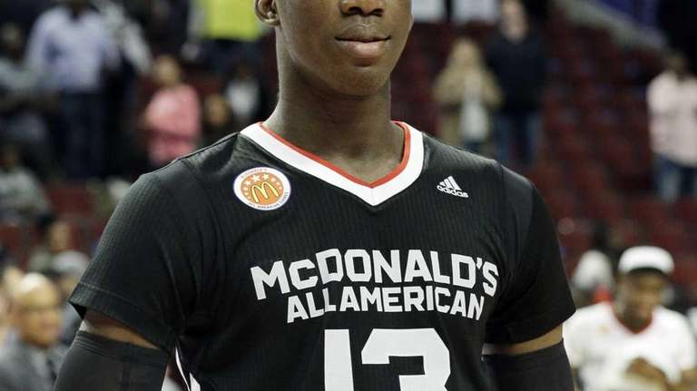East forward Cheick Diallo of Our Savior New