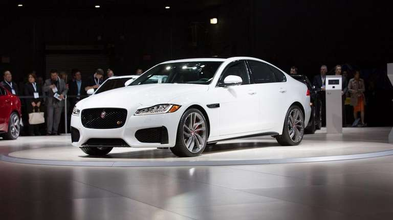The 2016 Jaguar XF is introduced on April