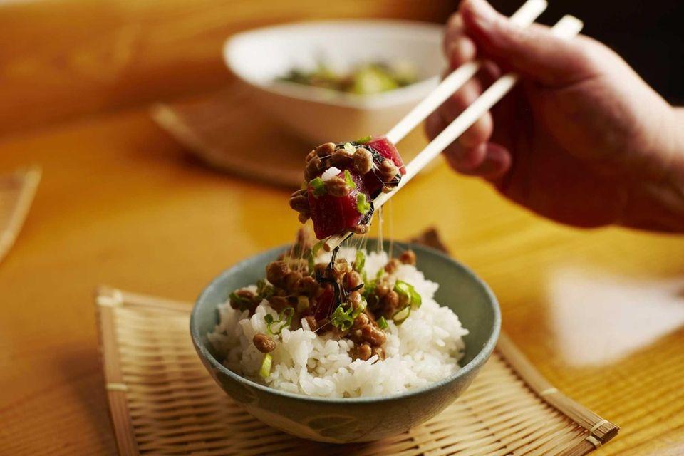 Natto at Nagashima Restaurant, Jericho: The Japanese diet