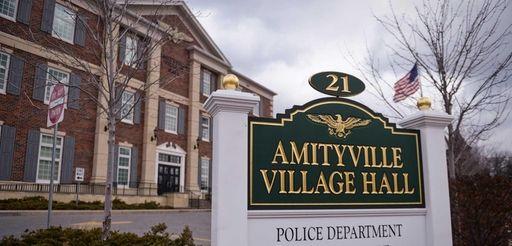 Amityville Village Hall is shown on Feb. 25,