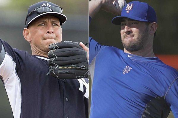 This Newsday composite shows Yankees third baseman Alex