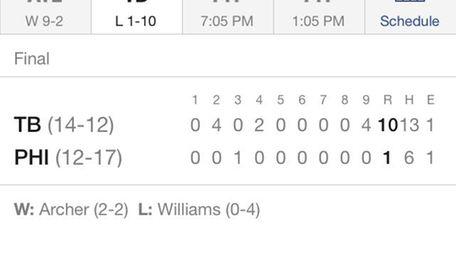 The MLB.com At Bat app.
