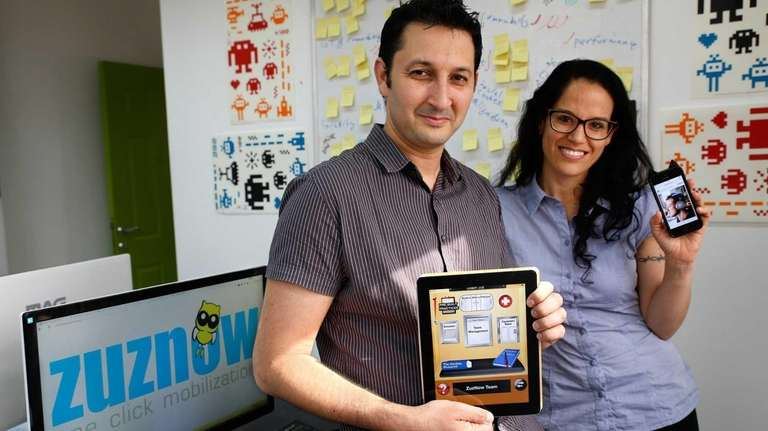 Chen Levkovich and Rachel Batish, co-founders of Israeli