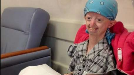 Progeria made Hayley age eight times faster than
