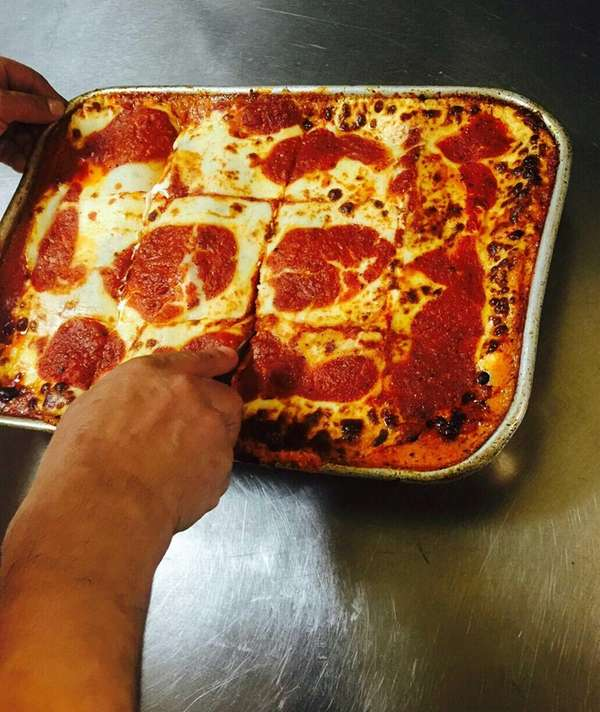 Matzo lasagna is being featured during Passover week