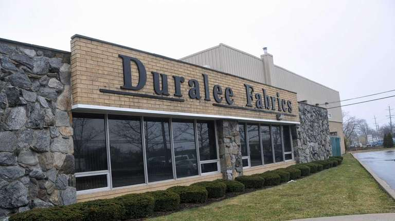 Duralee Fabrics in Bay Shore, which sells high-end