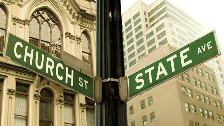 Church and state at a crossroads.