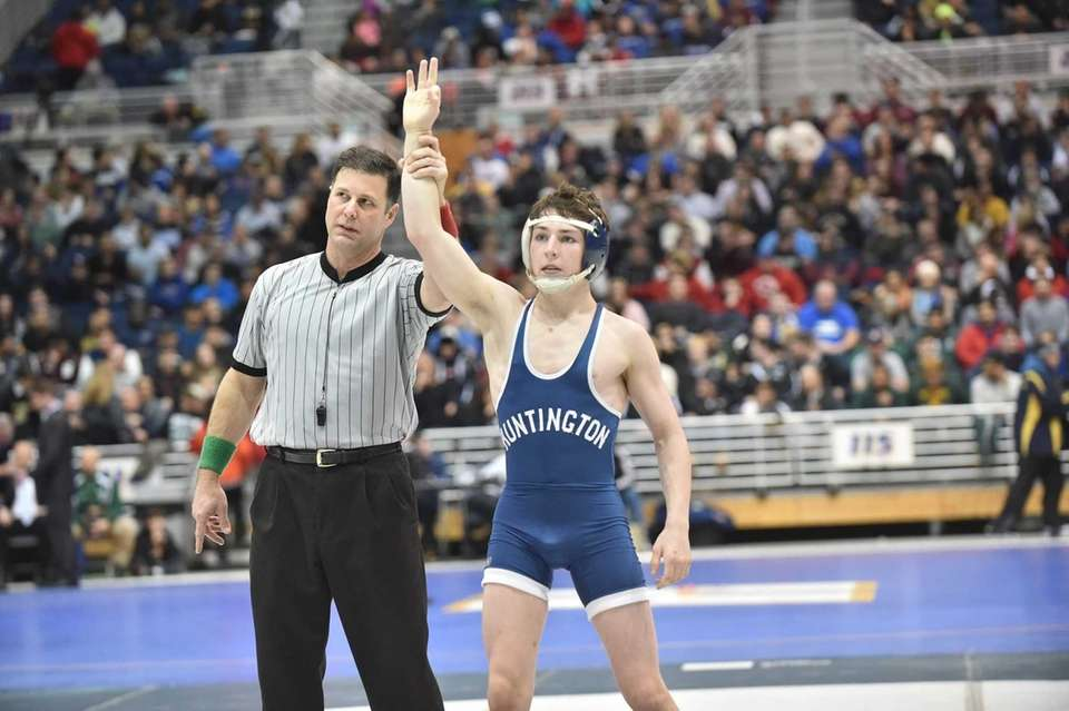 John Arceri won his third straight Suffolk title
